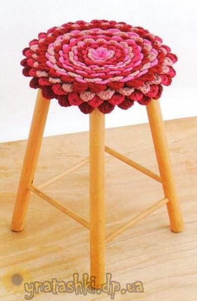 Вязание крючком. Объемное вязание по филейной сетке - Pinterest