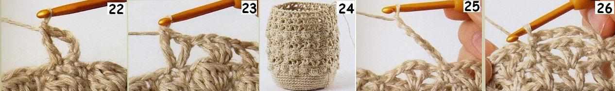 Вязание сумочки-косметички-7