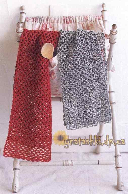 Мастер-класс Воздушный шарф