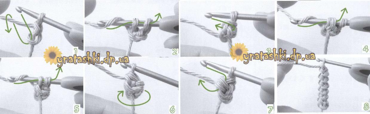Вязаные браслеты со схемой