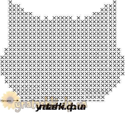 Кошелек для мелочи Котенок вязаный крючком схема